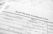 Social Security enrollment form and questions