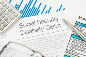 A social security disability form. Learn more about applying for disability benefits.