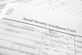 Social Security enrollment form and questions